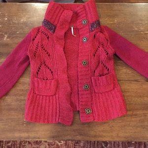 Free People wool knit sweater